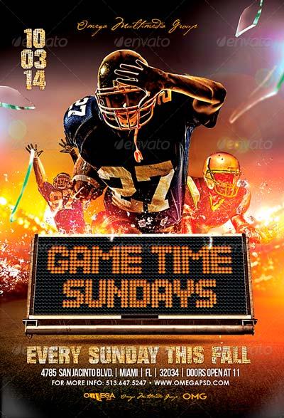 Gametime Sundays