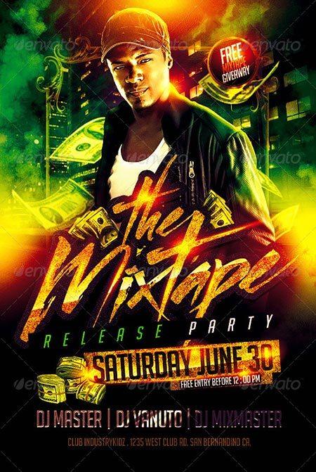 Mixtape Release Party Flyer V2