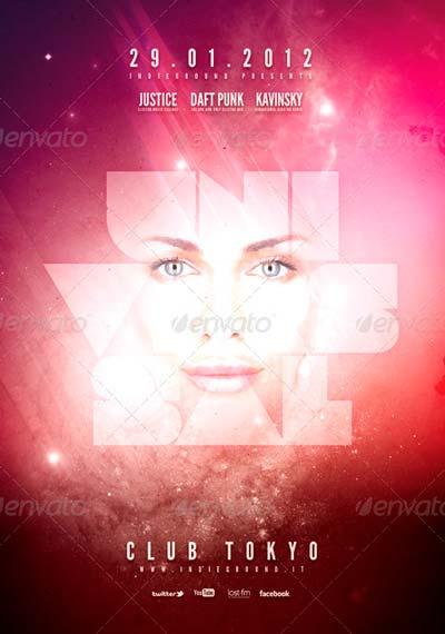 Futuristic Flyer/Poster Vol. 2