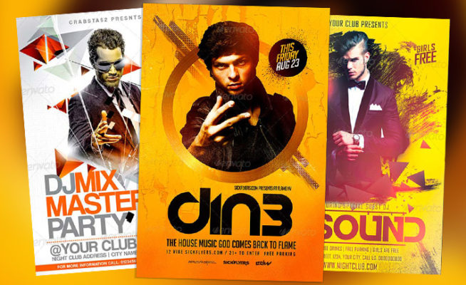 Best DJ Flyer Templates No.1