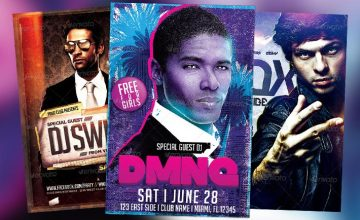 Top 30 Electro Dj Event Flyer Templates