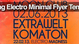 Top 50 Amazing Electro Minimal Flyer Templates