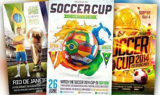 Best Soccer Flyer Templates No.1