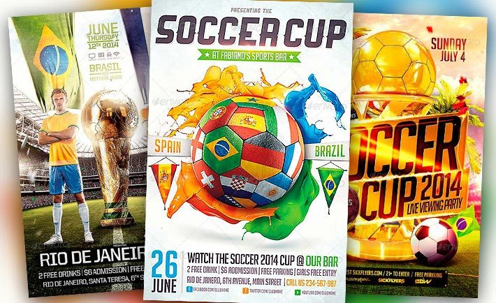 Best Soccer Flyer Templates No.1