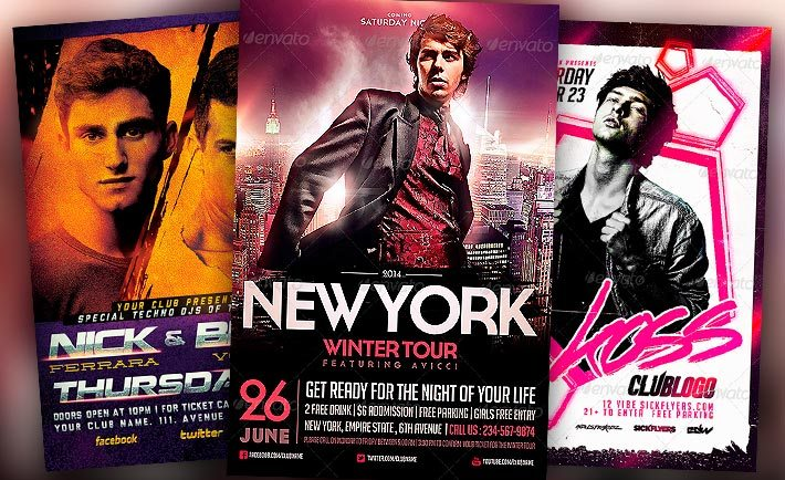 Best DJ Flyer Templates No.2