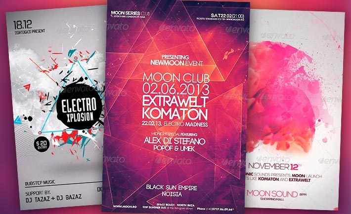 Best Electro Flyer Templates No.1