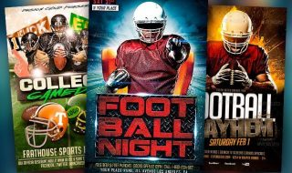 Best Football Flyer Templates No.1