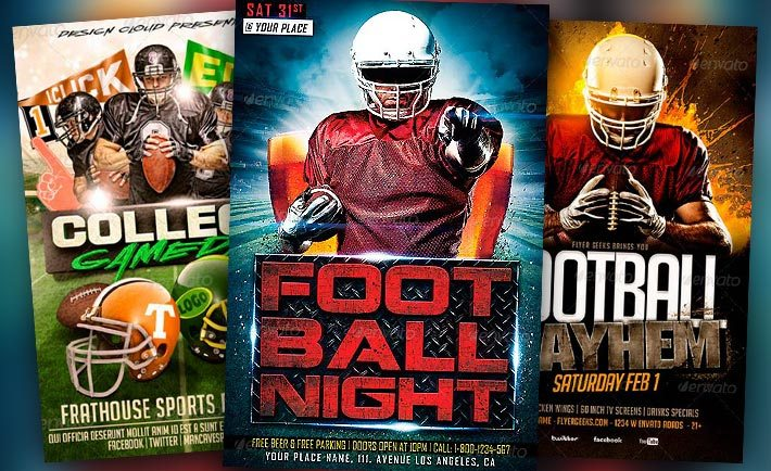 Best Football Flyer Templates No  Download Psd Flyer