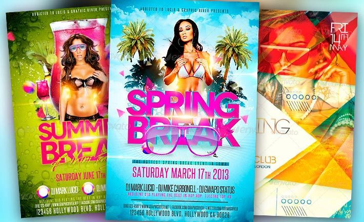 Best Spring Flyer Templates No.1