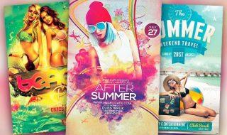 Best Summer Flyer Templates No.1