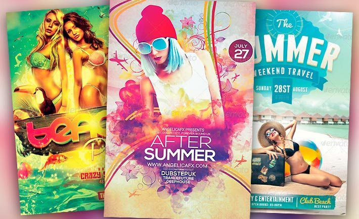 Best Summer Flyer Templates No  Download Psd Flyer For Photoshop
