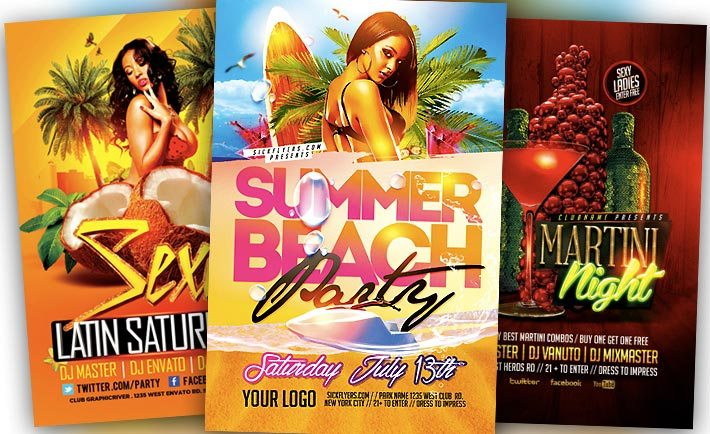 Best Summer Flyer Templates No. 2