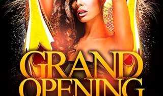 Free Flyer: Grand Opening Party Flyer Template Vol.2