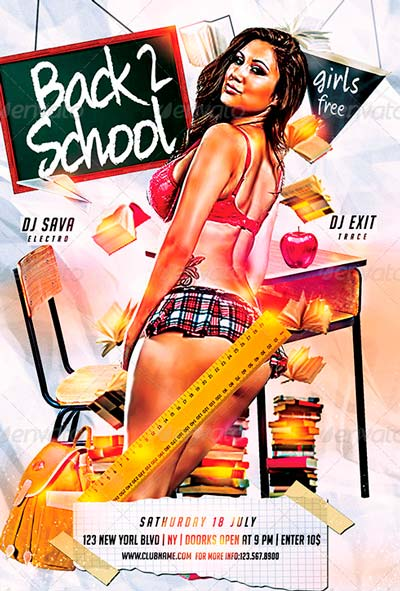 Back 2 School Party