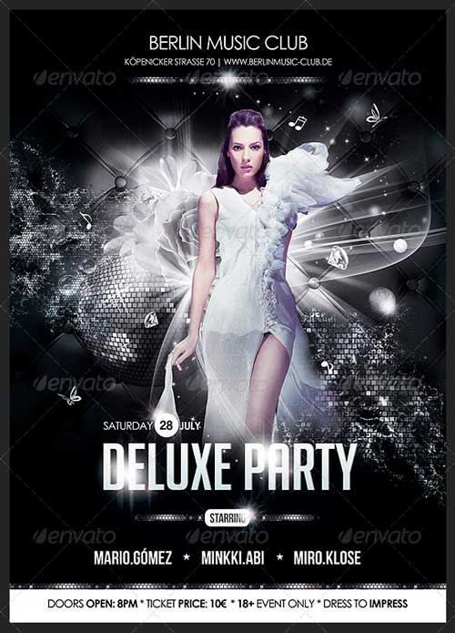 Top 20 Elegant Luxury PSD Flyer Templates