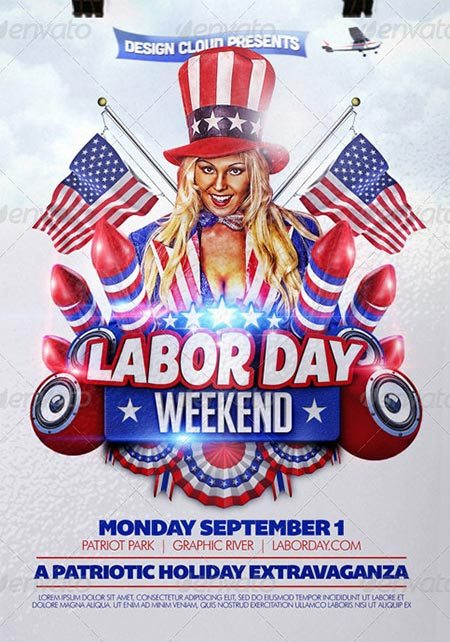 Labor-Day-Weekend-Flyer-Template
