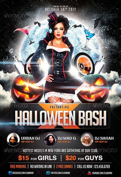 halloween flyer template free