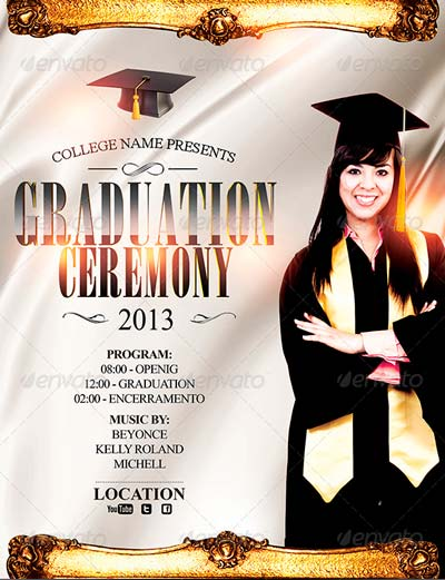 Graduation Event Poster