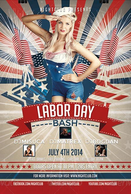Labor-Day-Party-Flyer