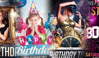 Best Top 20 Birthday Flyer Templates for Photoshop