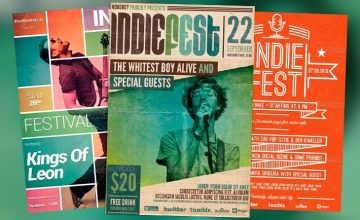 Top 30 Best Indie Rock Free and Premium Flyer