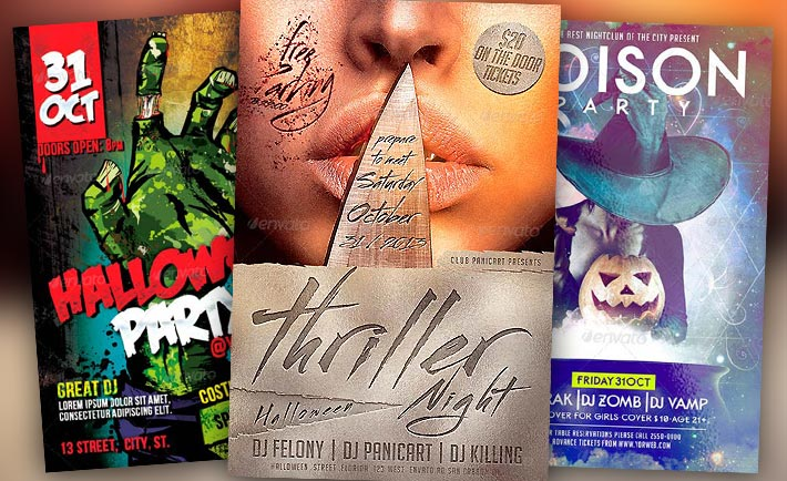 Best Halloween Flyer Templates No.1
