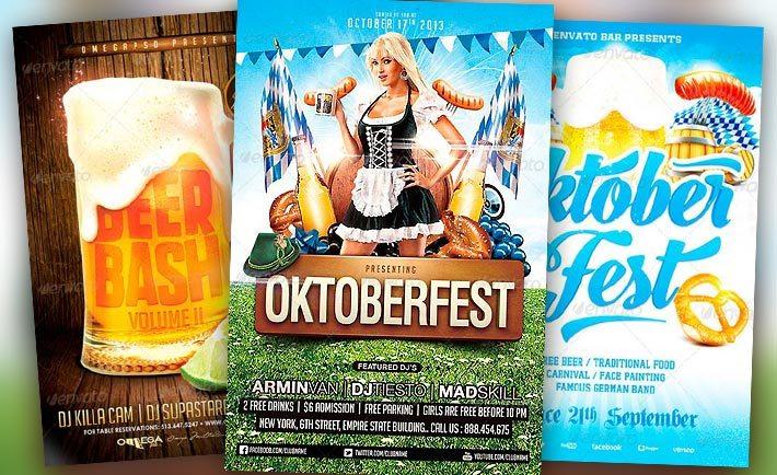 Best Octoberfest Flyer Templates