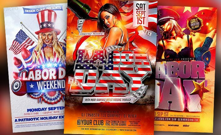 Best Labor Day Flyer Templates