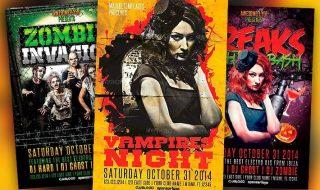 Best Halloween Flyer Templates No.2