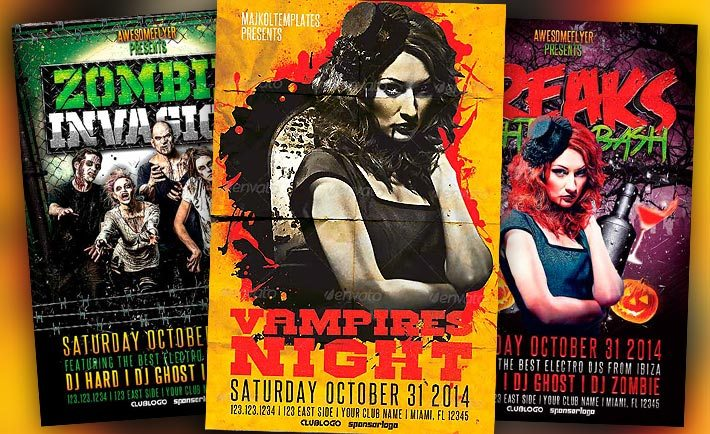 Best Halloween Flyer Templates No.2