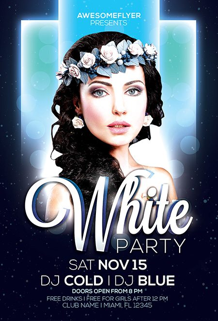 1_white_party_awesomeflyers