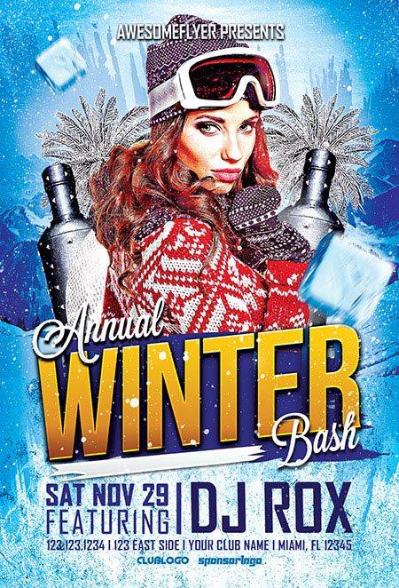 5_annual_winter_bash_awesomeflyer