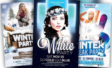 Best Winter Flyer Templates