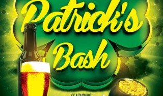 Featured Flyer: St. Patricks Day Bash Flyer Template