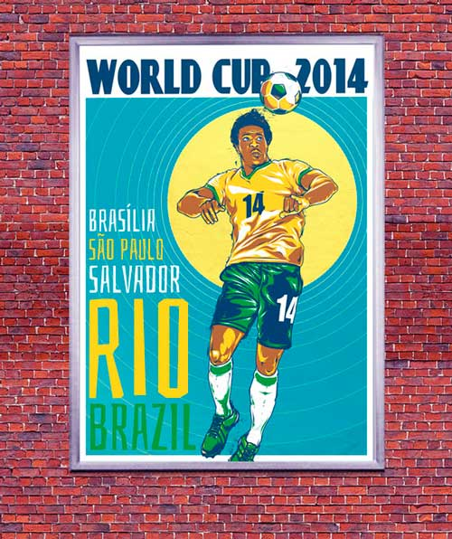 Create a Retro World Cup Poster in Adobe InDesign