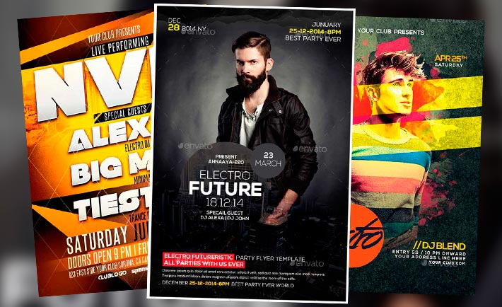 Best Dj Flyer Templates No3 Download Club Party Flyer