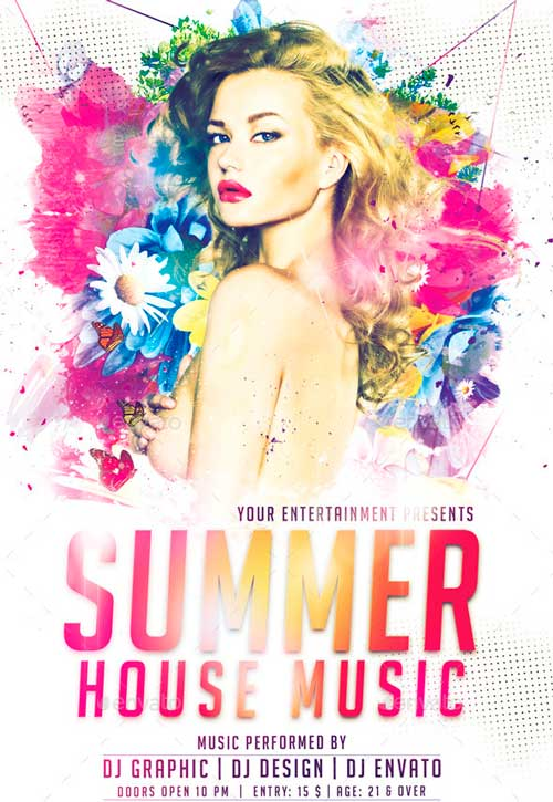 Summer House Flyer