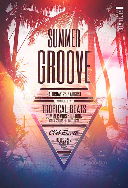 Summer Groove Flyer