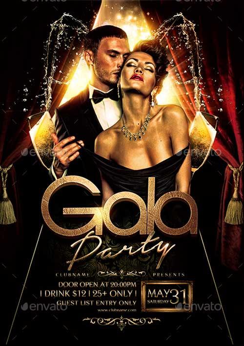 Gala Night Flyer