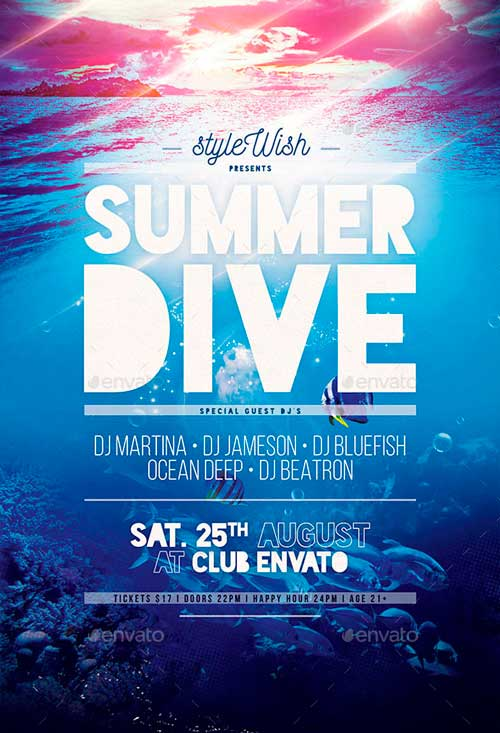 Summer Dive Flyer