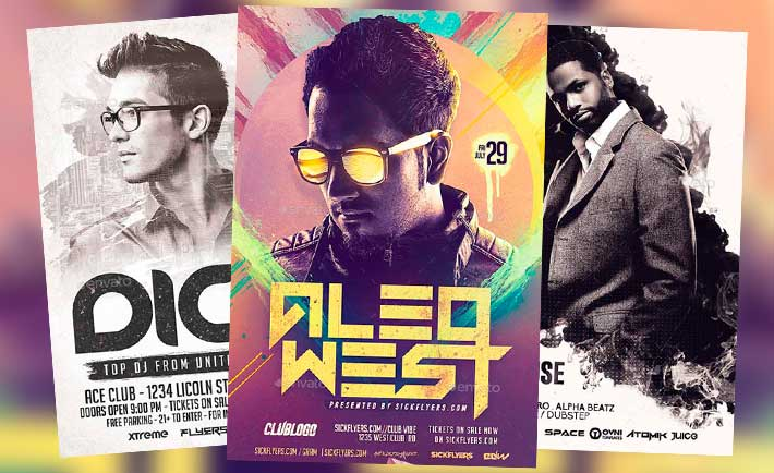 Best DJ Flyer Templates No 4