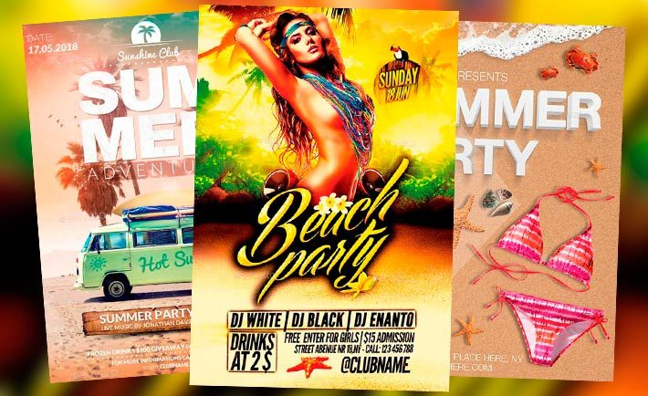 Best Summer Flyer Templates No.4