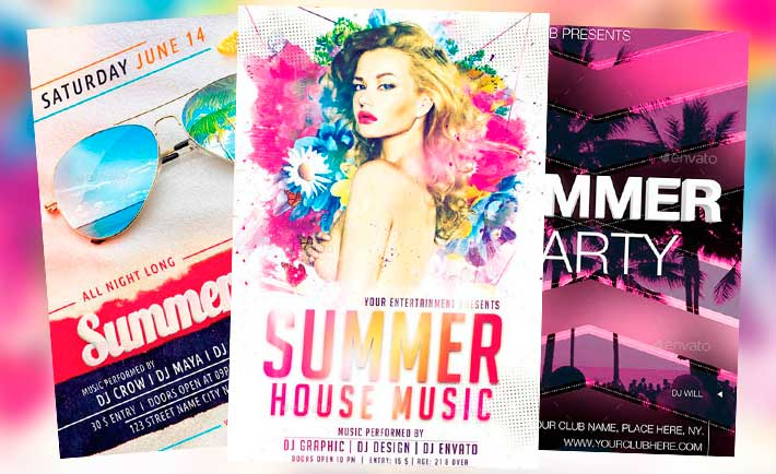 Best Summer Flyer Templates No.3