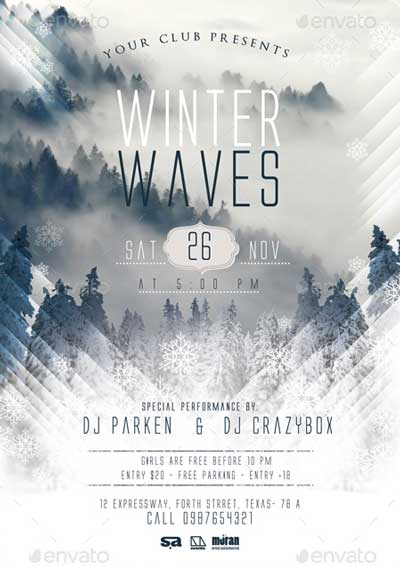 Winter Wave Flyer