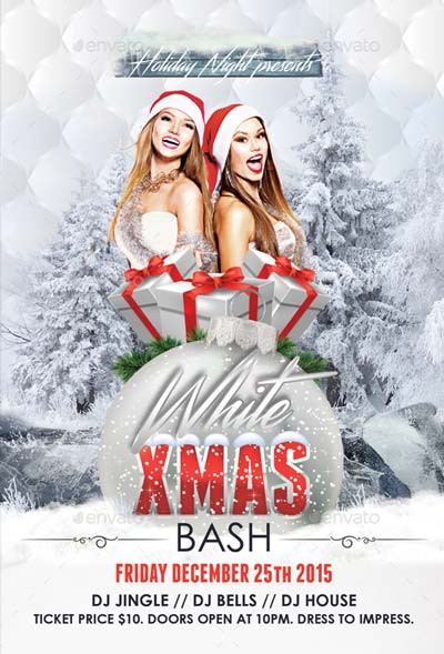 Christmas 2016 Party Flyer