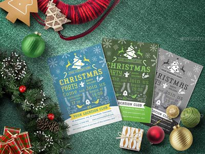 Christmas Party - Flyer Template 05