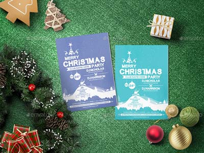 Christmas Party - Flyer Template 06