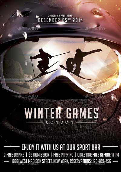 Winter Games Flyer