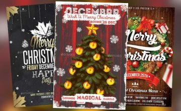 Top 50 Christmas Flyer Templates of 2015