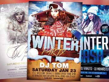 Top 50 Winter Flyer Templates of 2015